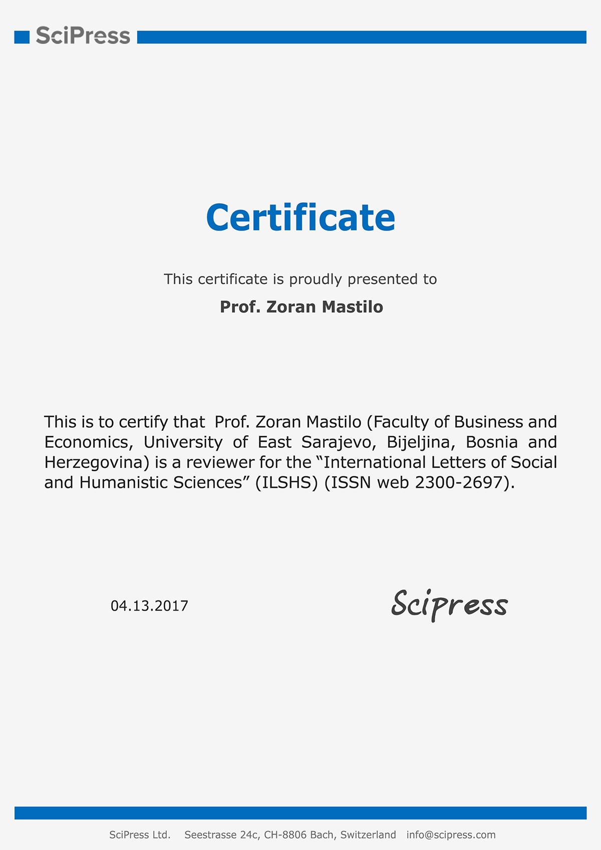 certificate-zoran-mastilo